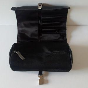 Giorgio Armani Cosmetics Roll Leather Case NEW